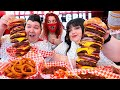 Gambar cover Heart Attack Grill With Hungry Fat Chick 20,000 Calorie Burgers • MUKBANG