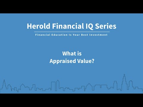 What is Appraised Value?