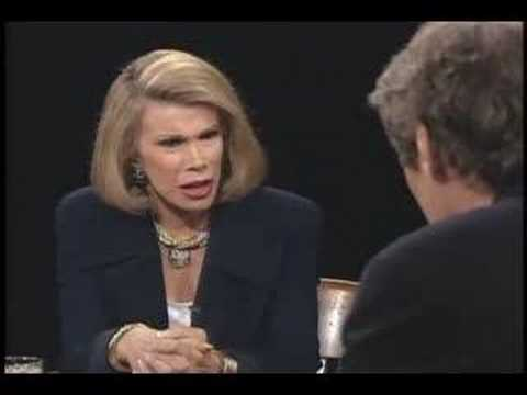 Growing up under Nixon; Paul Krugman; David Roche; Joan Rivers (April 26, 1994) | Charlie Rose