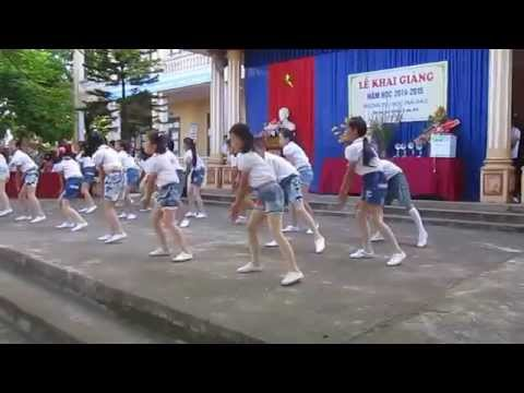Dân vũ rửa tay - Trường Tiểu học Thái Đào