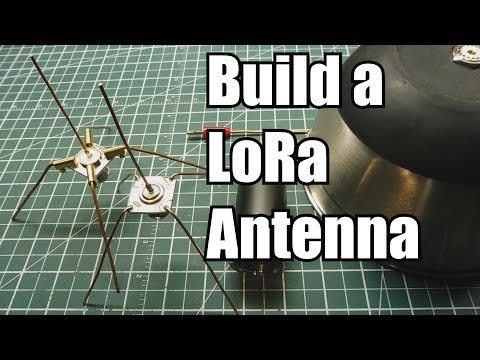 Build A Mono-pole Antenna For Your LoRa Radio