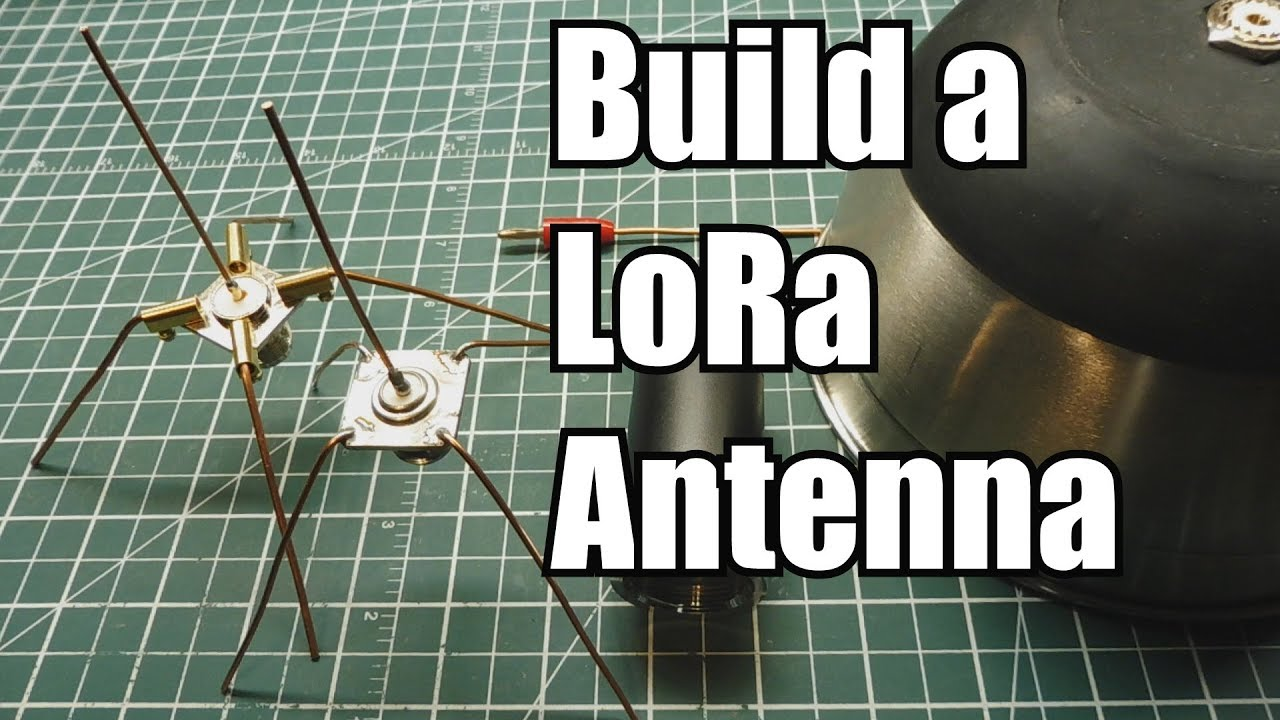 Build A Mono-pole Antenna For Your LoRa Radio