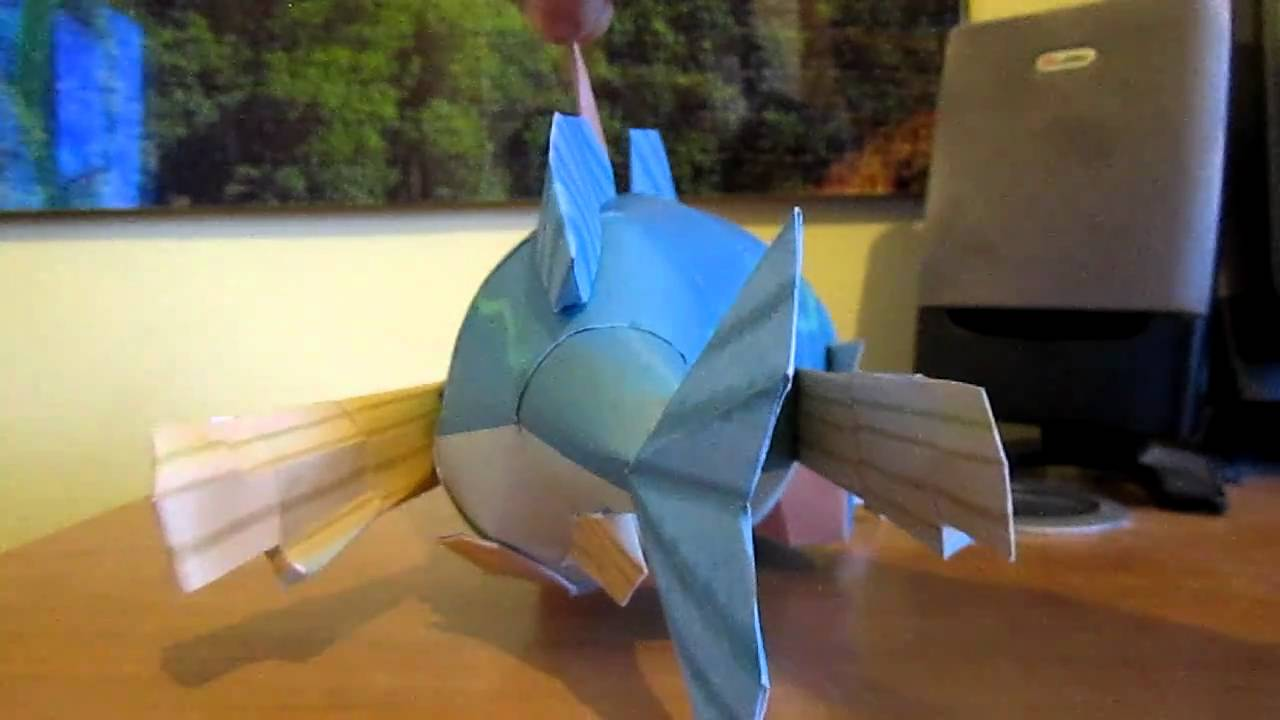 Papercraft Fishman Papercraft by EldeTabernas
