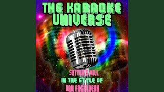 Sutter's Mill (Karaoke Version) (in the Style of Dan Fogelberg)