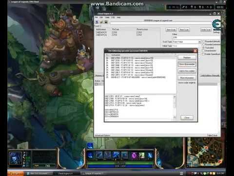 League Of Legends How To Hack Zoom With Cheat Engine 2015 Working 100% Lol