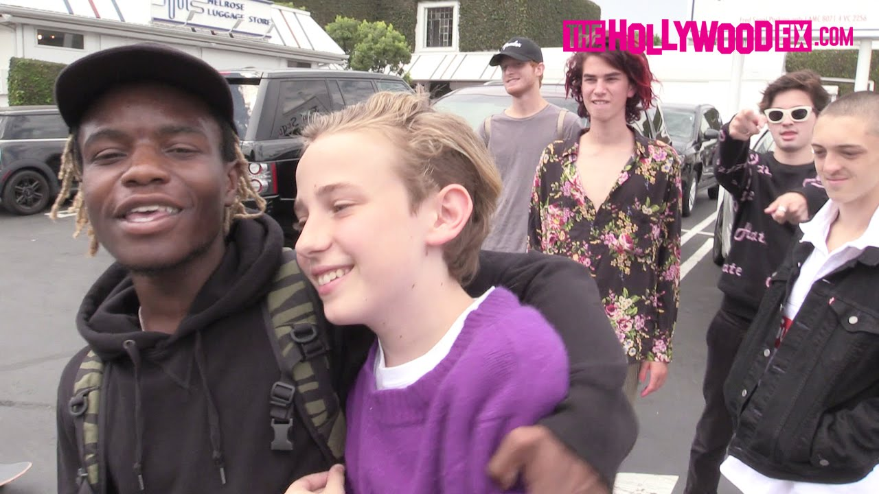Download Ian Connor Skateboards With Friends At Fred Segal 8.25.15 - TheHollywoodFix.com
