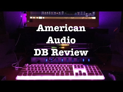 American Audio DB display How To and Review (inthestudio) - Romeo Rivera