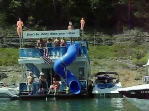 Party Cove At Lake Cumberland 2012
