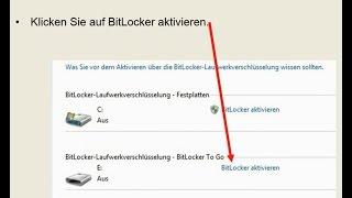 USB-Stick und Festplatte verschlüsseln
