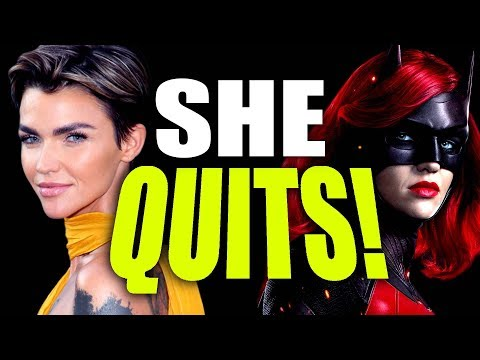 RUBY ROSE QUITS BATWOMAN!