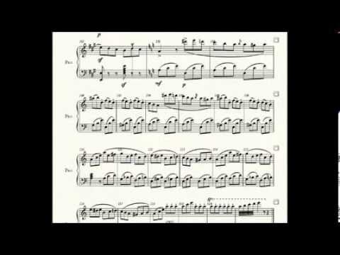 Rossini.  Tarentella, from La Boutique Fantasque. Piano arr.