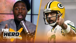 Greg Jennings discusses Rodgers' body language, and OBJ's team comments   NFL   THE HERD