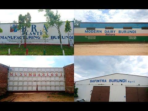 Visite des entreprises:B.R.A PLASTEX MANUFACTURING, Modern Dairy Burundi, Musumba Steel et Safintra