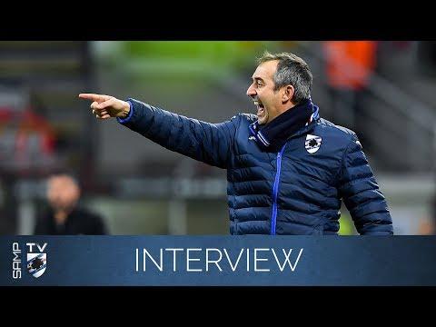 Milan-Sampdoria, Giampaolo: «Ripartiamo da Marassi»
