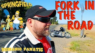 Volcanic Home, Fork In Road, & Homer's Springfield & EPIC Camping