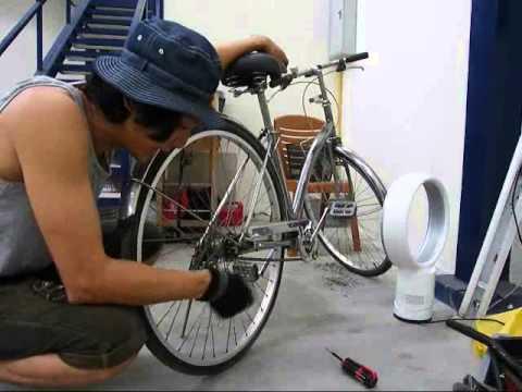 จักรยาน เก่าคุณภาพดี เลยถอดทำสี