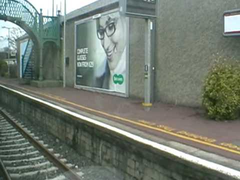 Departing Ennis station