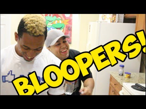 BLOOPERS!: THE STRUGGLE IS REAL!