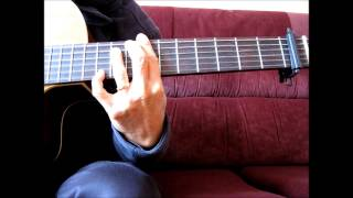 Catholic Hymn: Guitar Solo / Fingerstyle Chord Lesson - The Lord Is My Shepherd (Brian Boniwell)