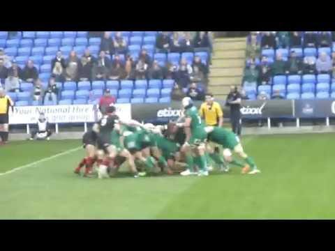 london irish v edinburgh rugby