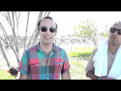 Interview: Luke Top and Sal of Fool's Gold at FYF Fest, LA, Sept 3, 2011
