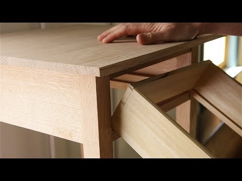 Anatomy of an End Table and Drawer