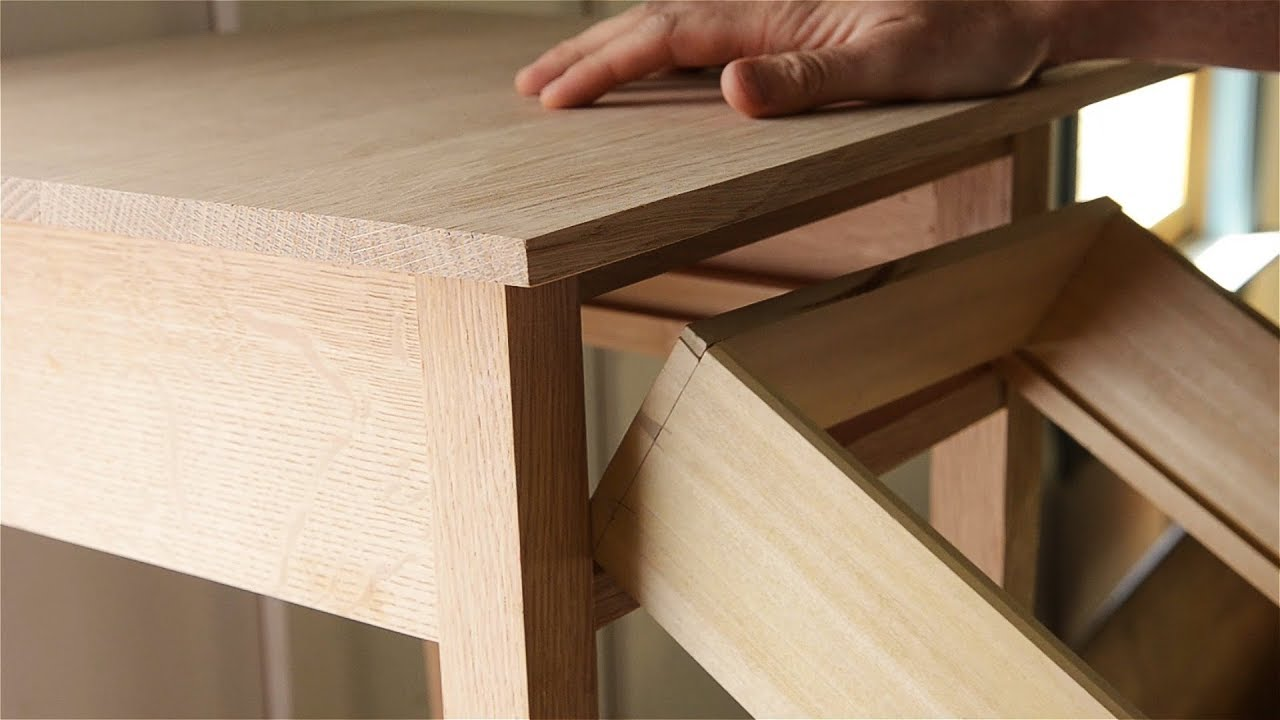 Anatomy of an End Table and Drawer - YouTube