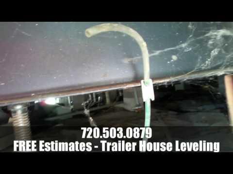 Mobile Home Leveling - Denver Metro & Colorado Springs