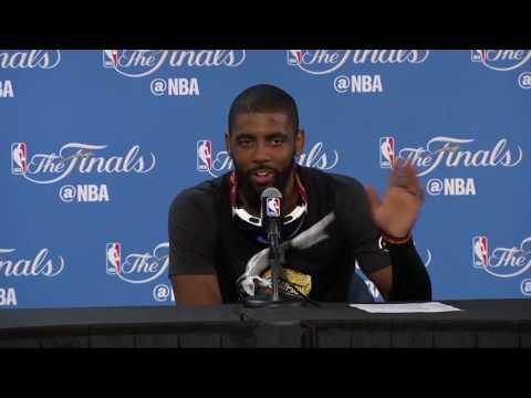 Kyrie Irving Postgame Interview #1 | Cavaliers vs Warriors - Game 7 | June 19, 2016 | NBA Finals
