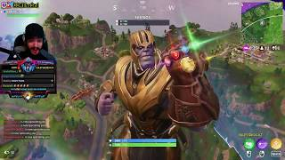 THANOS NEW SKIN UPDATE... FORTNITE DAILY MOMENTS EP 001