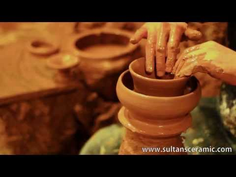 """Making Turkish Pottery - Ceramic by """"Sultans Ceramic"""""""