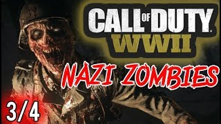 "Call of Duty WW2 Zombies ""The Final Reich"" Solo Gameplay Live Commentary Part 3/4"