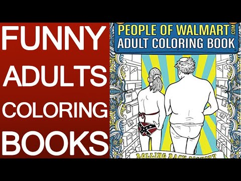 Funny Coloring Books - YouTube