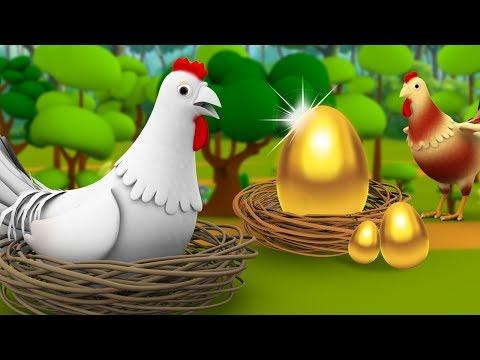 Sone Ka Anda 3D Animated Hindi Stories For Kids | Moral Stories सोने का अंडा हिन्दी कहानी Tales