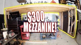 I built a cheap shop mezzanine - REMODEL PART 3