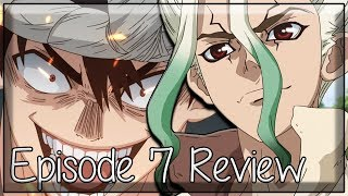 You Can't Stop Human Curiosity - Dr. Stone Episode 7 Review