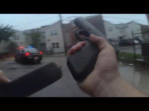 Baltimore Police Release Bodycam Video of Shootout