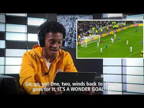 #JChallenge: Cuadrado goal commentary