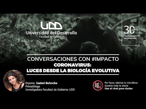 """Conversaciones con #Impacto: Isabel Behncke """"Coronavirus: Luces desde la Biología Evolutiva"""""""