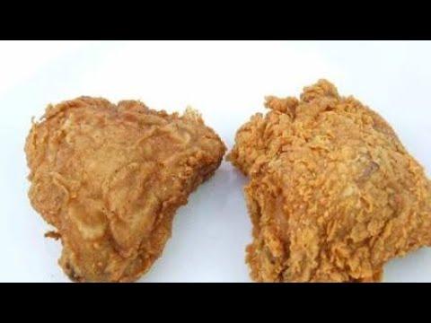 How to cook kfc original fried chicken recipe   kfc original chicken recipe at home