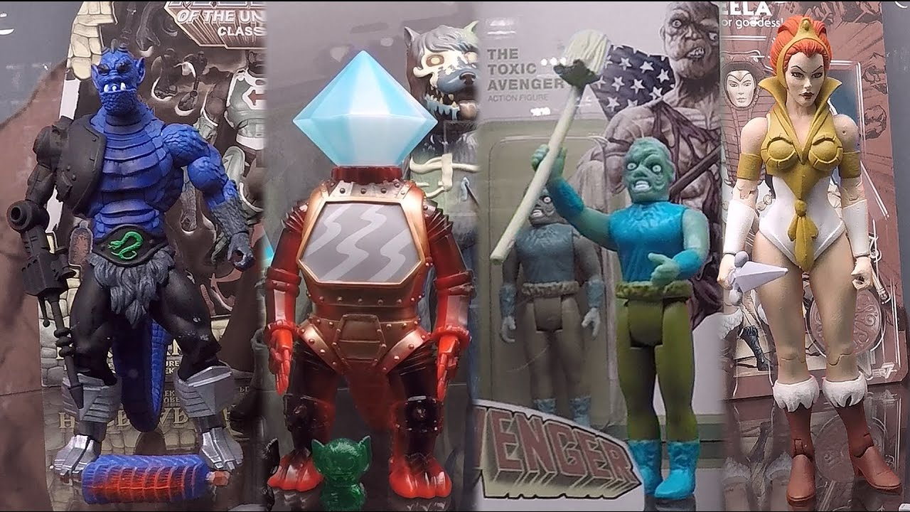 Masters Of The Universe He-Man Reaction Action-Figur Super7