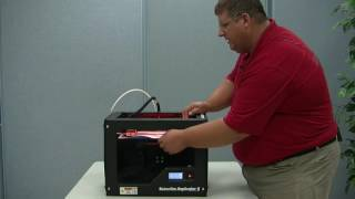 Using the MakerBot Replicator 2 3D Printer