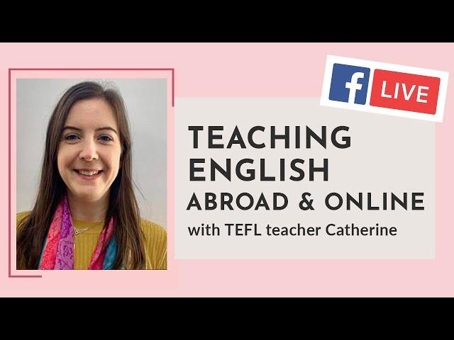 i-to-i WEBINAR   Episode 6: Teaching English Abroad & Online
