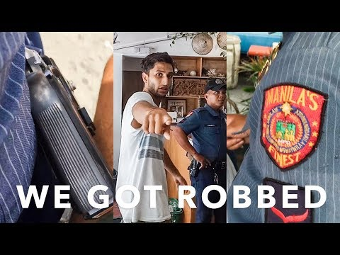 WE GOT ROBBED IN THE PHILIPPINES | Manila Travel Vlog