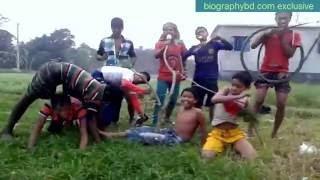 Bangla Funny Song DJ HD Video   Deshi Polapin