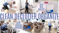 Ultimate Clean Declutter and Organize 2020 | Clean With Me | Cleaning Motivation