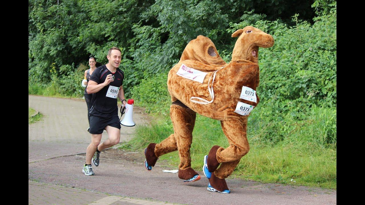 The NSPCC Milton Keynes Half Marathon.... Dressed as a Camel