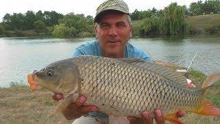 Ловля САЗАНА на спиннинг (сработала оснастка ДЖИГ- РИГ). My fishing
