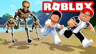 WE MADE SOME SKELETONS VERY ANGRY! - ROBLOX TIME TRAVEL ADVENTURES