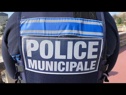 Coronavirus : La Police Municipale à Limoges